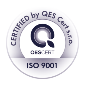 Certified by QES Cert. s.r.o. ISO 9001