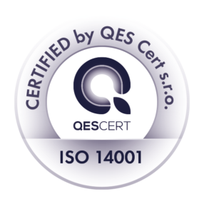 Certified by QES Cert. s.r.o. ISO 14001