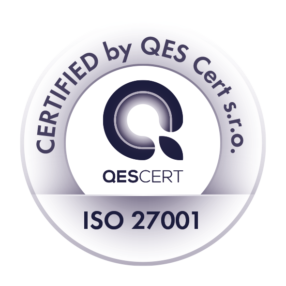 Certified by QES Cert. s.r.o. ISO 27001